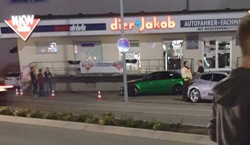 Polizeikontrolle Audi RS6