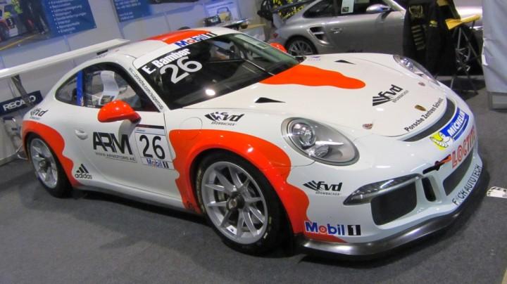 Porsche auf der Automobil Messe Freiburg 2014