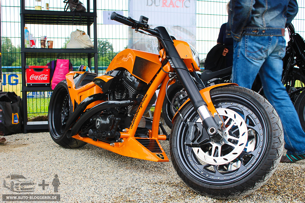 Lamborghini als Custom Bike