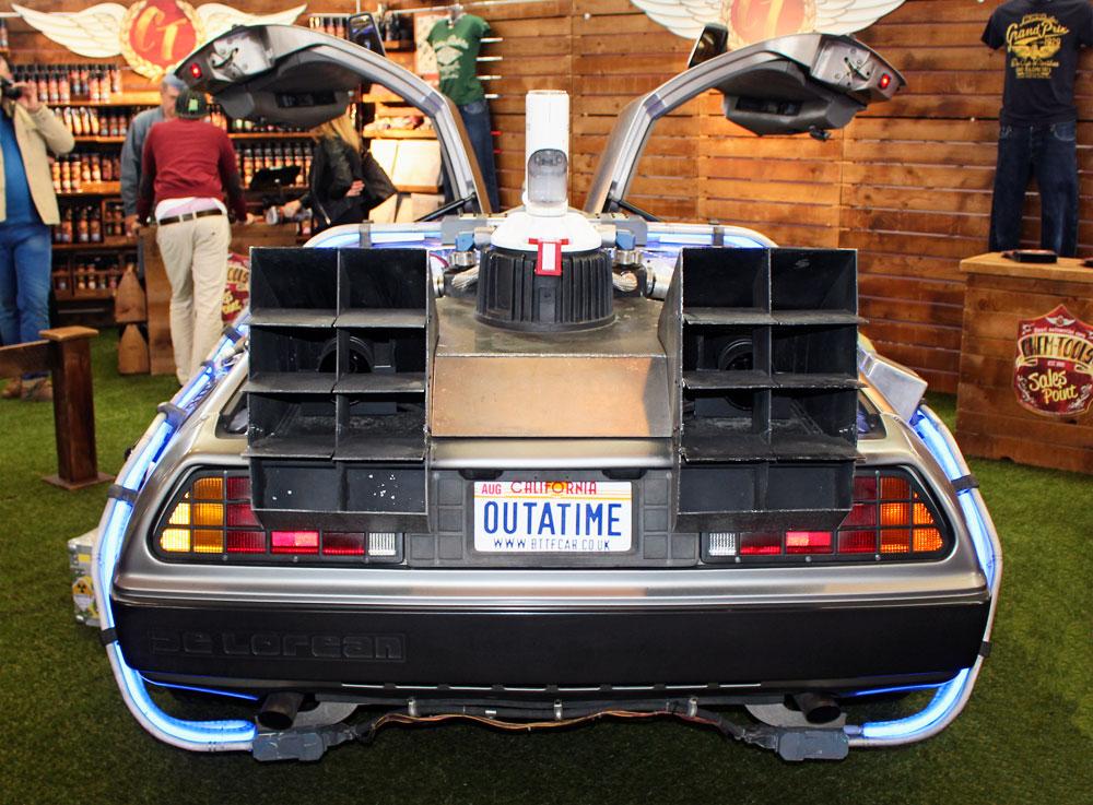 """DeLorean DMC-12, auch bekannt als """"Zurück in die Zukunft"""" Auto"""