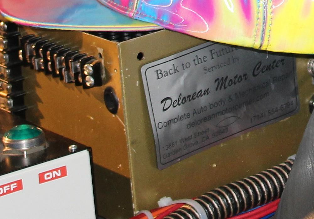 Eine echte Zeitmaschine aus Delorean Motor Center
