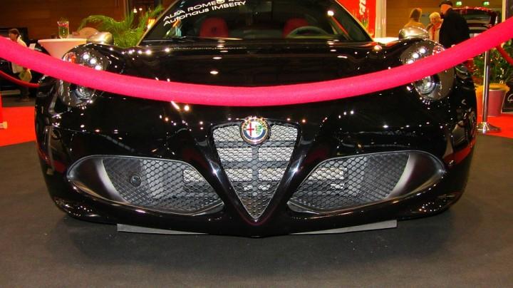 Alfa Romeo 4C auf der Automobil Messe Freiburg 2014