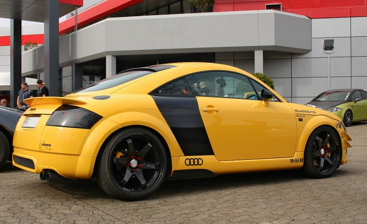 Audi TT beim Car-Freitag Car Community Ortenau