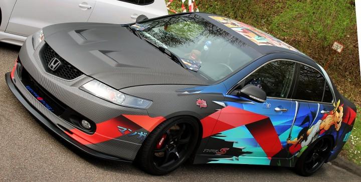Honda Type-S - typisch bunt
