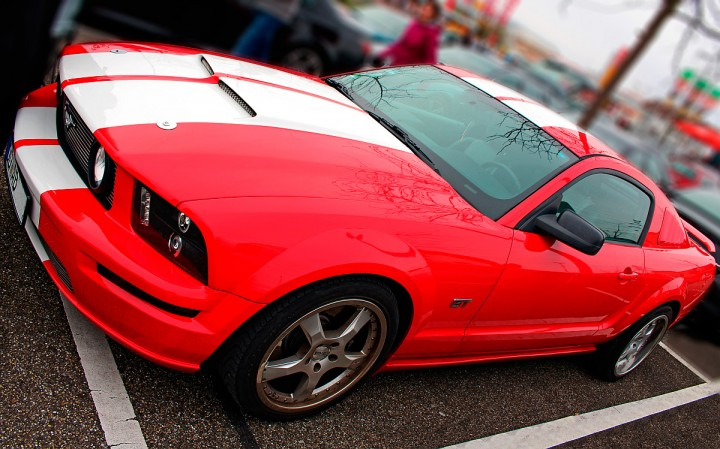 Mustangs gab es einige zu sehen, u.a. Mustang GT aus Raum OG