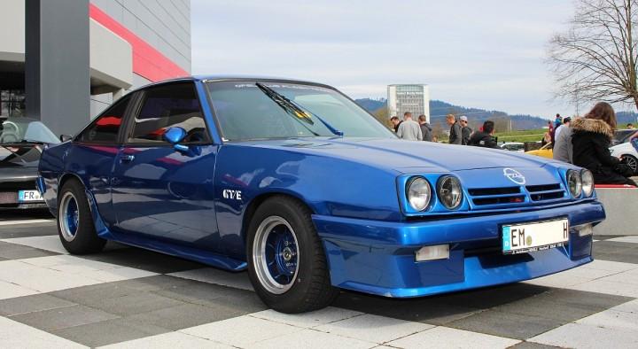 Eine Legende: Opel GTE