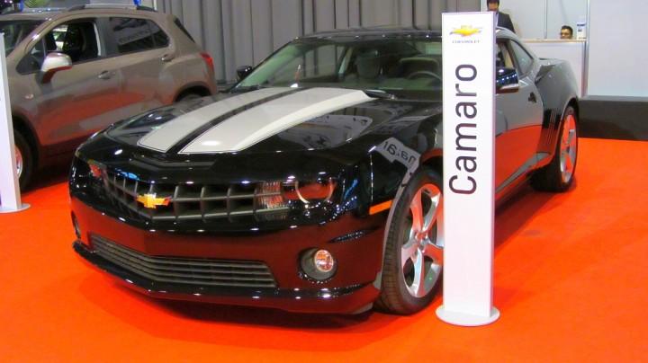 Chevrolet Camaro auf der Automobil Messe Freiburg 2014