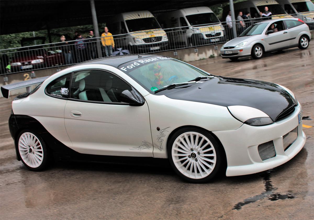Ford Puma von Oliver - auch bei Tag ein Augenschmaus. Hier: bei einem Tagestreffen der Ford Freaks Freiburg