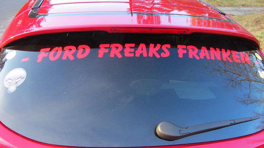 Ford Freaks Franken bei Ford Freaks Freiburg (Wintertreffen)