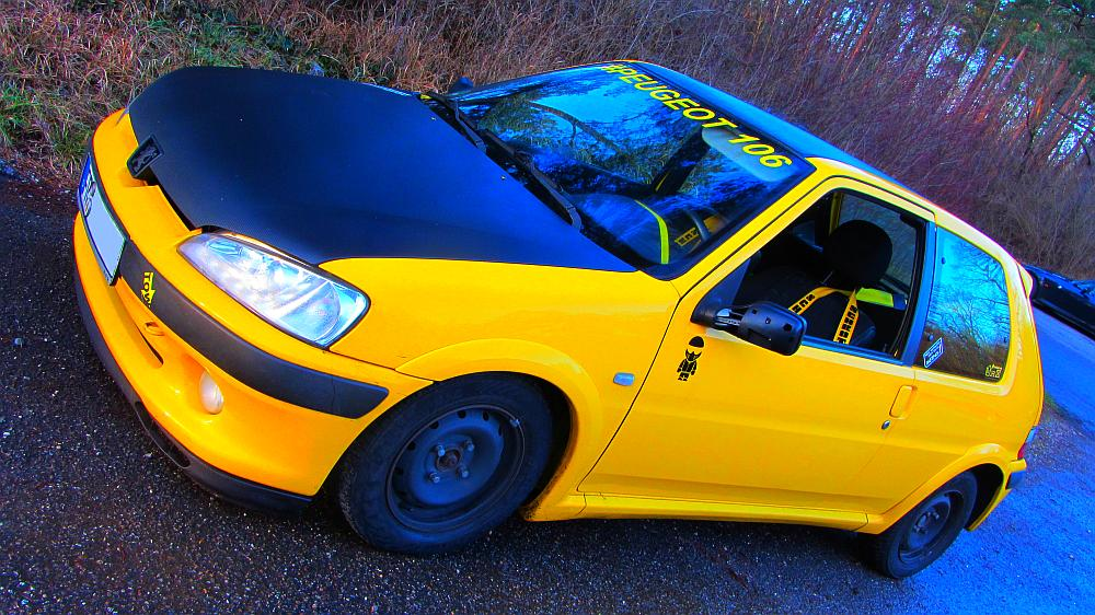 Ford Freaks Freiburg Wintertreffen: Peugeot 106 von Steven