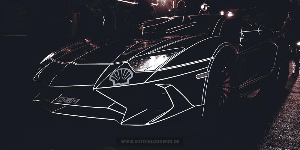 Klasse Look für einen Lamborghini