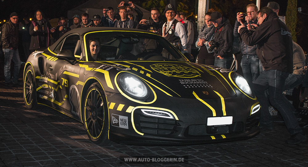 Porsche aus der Schweiz bei Gumball 3000