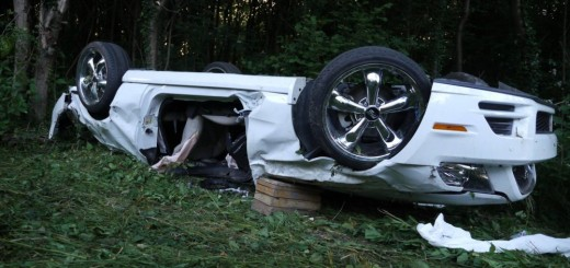 Tödlicher Unfall mit einem Ford Mustang in Freiburg