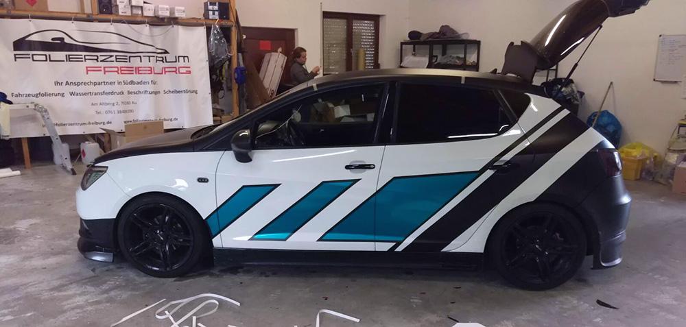 Folierung von Seat Ibiza 6J aus Emmendingen